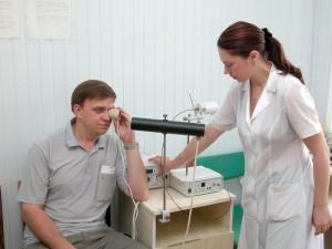 Посещение физиотерапевтических кабинетов