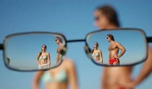 Как видят люди с близорукостью