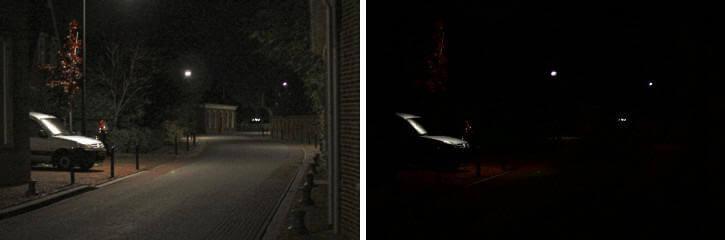 Как человек видит с гемералопии в ночное время суток
