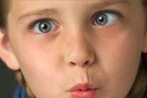 Сходящееся косоглазие у ребенка