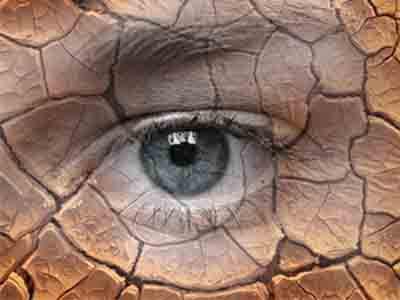 Сильная сухость в глазах
