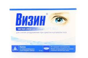 Упаковка глазных капель